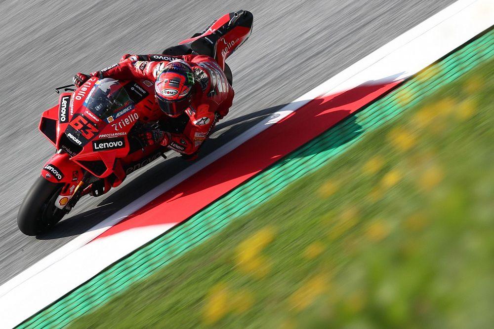 MotoGPオーストリアFP3:バニャイヤがレコードに迫るトップタイム。中上貴晶は総合8番手で予選Q2へ