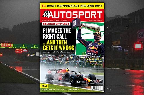 Magazine: Why F1's Belgian GP descended into farce