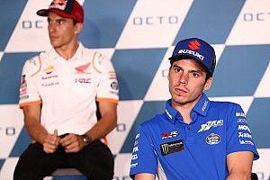 """Mir a """"du mal à comprendre"""" que Márquez continue à prendre sa roue"""