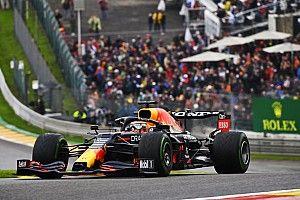 Belgian GP: Verstappen leads Red Bull 1-2 in wet final practice