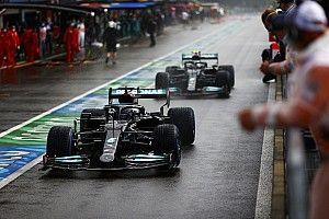 El resultado de Russell no cambia la preferencia de Hamilton por Bottas