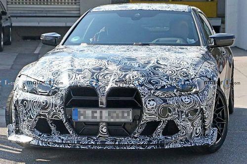 Úgy tűnik, maradnak a BMW M4 CSL-en is az óriásvesék, még több extra elemmel