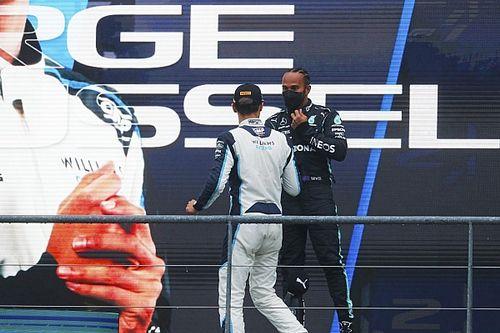 "F1 - Verstappen: Russell tornaria as coisas "" muito difíceis"" para Hamilton na Mercedes"