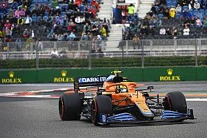 """La primera pole de Norris en F1, en un sesión """"de locos"""" y """"arriesgando"""""""
