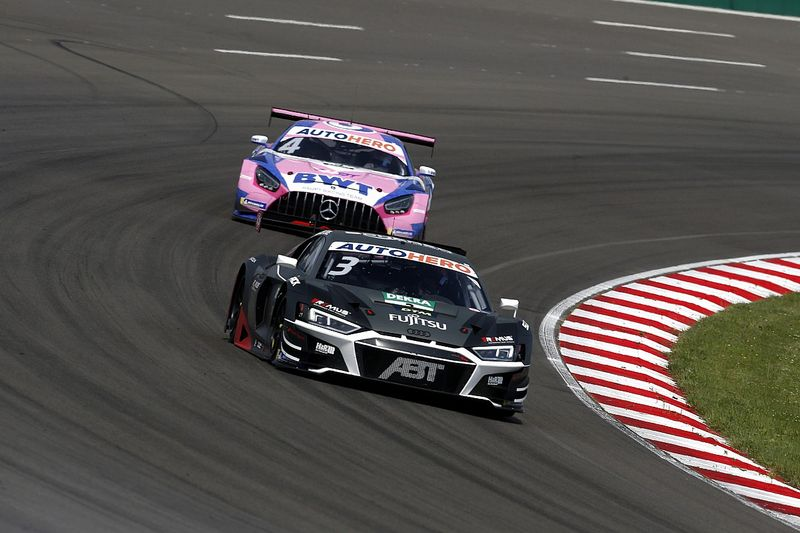 """Van der Linde relieved to avoid """"bigger disaster"""" at Lausitzring"""