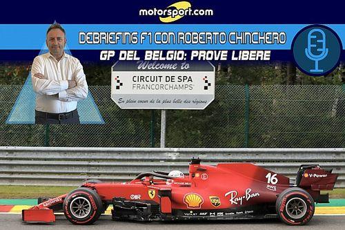 """Chinchero: """"A Spa la vera Ferrari la vedremo solo domani"""""""