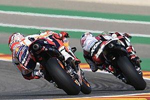 Las mejores fotos del arranque de MotoGP en Motorland Aragón