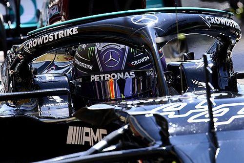 F1: Hamilton passa mal após corrida é atendido por médico da Mercedes