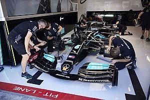 Ciężka praca w Mercedesie