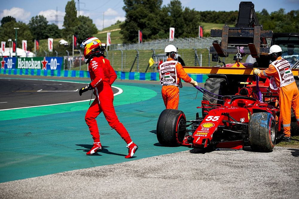 Сайнс отказался считать сезон-2021 лучшим для себя в Ф1