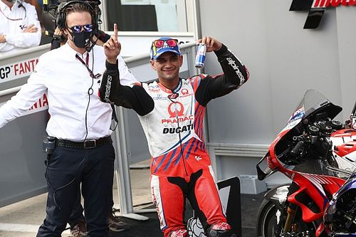 "MotoGP rookie Martin ""living a dream"" after second Austria pole"