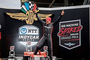 IMS IndyCar: Power claims first win of 2021 over Grosjean
