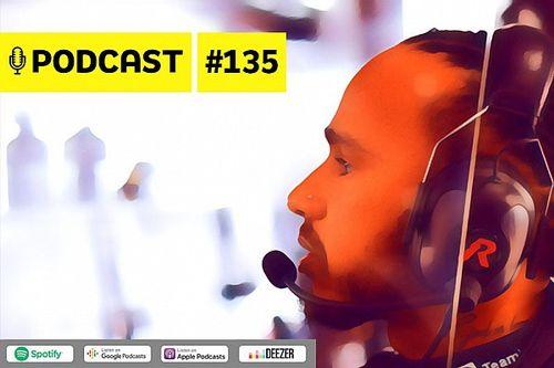 Podcast #135 – Vitória 100 de Hamilton na F1 chega em momento mais pressionado na carreira?