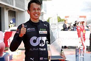 Albon domináns teljesítménnyel nyerte első DTM-futamát!
