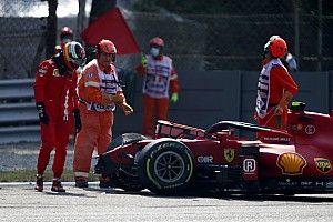 FIA Tinjau Kemungkinan Pelanggaran Sabuk Pengaman Carlos Sainz