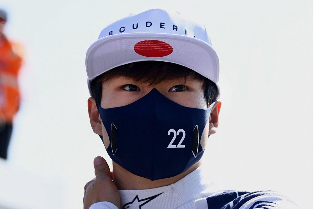 角田裕毅、来季もアルファタウリでドライブ「引き続きF1で経験を積む、素晴らしい機会に感謝」