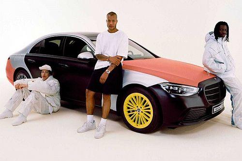 Használt légzsákokból készített ruházati cikkeket a Mercedes és egy divattervező