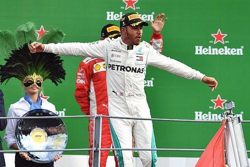 هاميلتون يسرق الفوز من براثن رايكونن في سباق مونزا