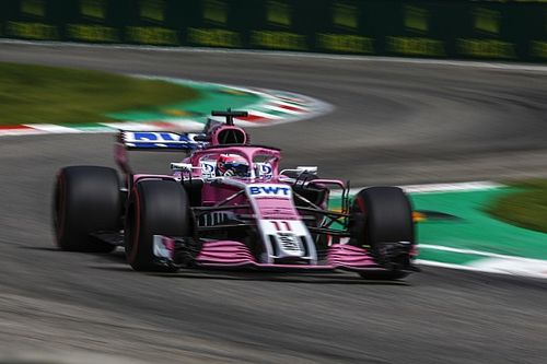 "Perez admits Force India ""screwed up"" after Q1 exit"
