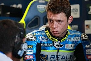 Rabat hospitalised after being hit by Morbidelli's bike