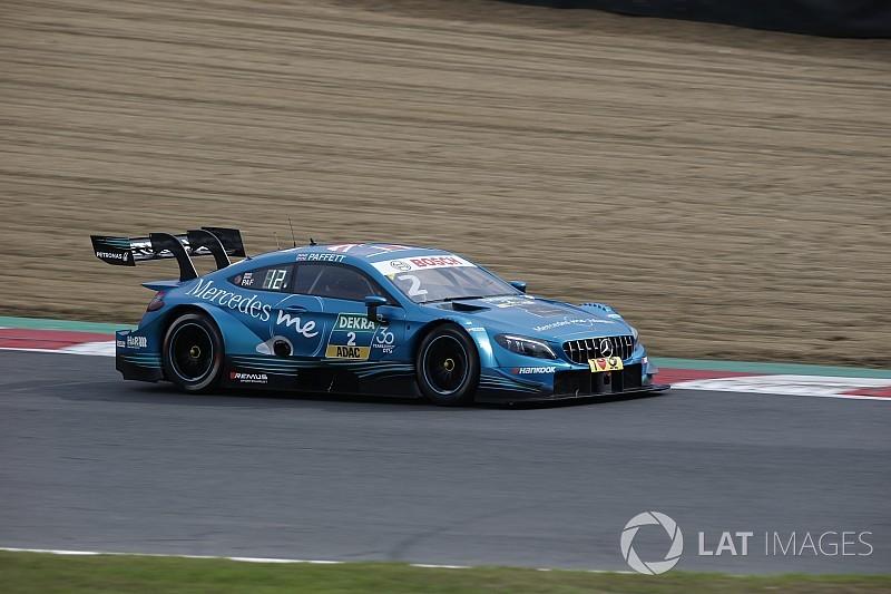 DTM Brands Hatch: Paffett pakt pole voor race 2, Frijns zesde