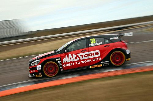 Rockingham BTCC: Morgan dominates opening race
