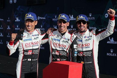 Silverstone WEC: Alonso, Buemi and Nakajima win again