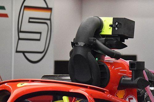 Nowy sposób Ferrari na zakrywanie kamery