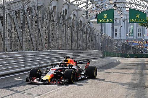 GP Singapuru: Ricciardo na czele, Red Bull najszybszy w FP1