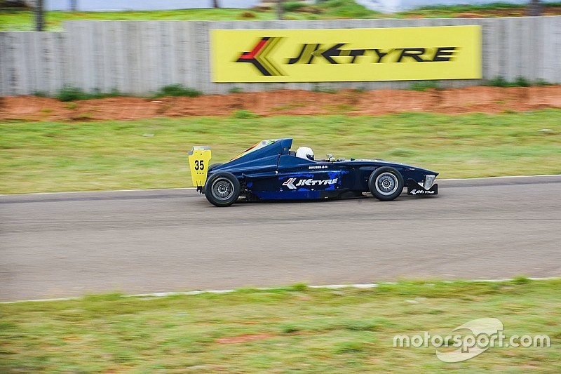 Coimbatore JK Tyre: Perera ends weekend with win