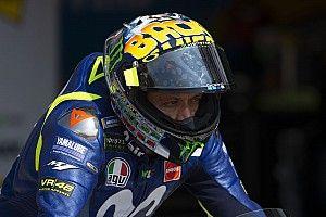Yamaha bermasalah, Rossi tak mengira tiga besar klasemen