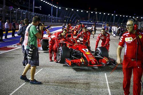 """Vettel: """"Não preciso motivar a equipe, eles me motivam"""""""