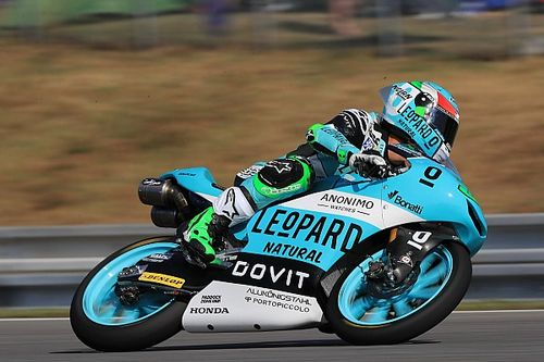 FP2 Moto3 Aragon: Pertarungan menit-menit akhir, Bastianini teratas