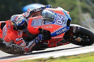 Dovizioso lidera el 1-2 de Ducati en el warm up