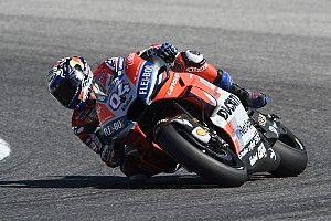 MotoGP Aragon FT1: Vier Ducati-Fahrer an der Spitze