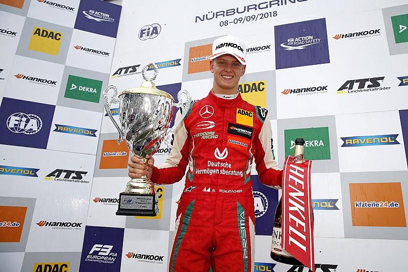 Mick Schumacher ist Formel-3-Europameister 2018