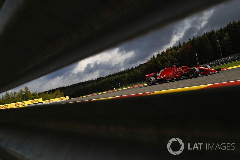 Räikkönen nyerte a második edzést a Belga Nagydíjon Hamilton előtt