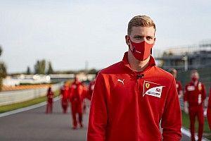 Schumacher, F2'nin son yarışları için hazır