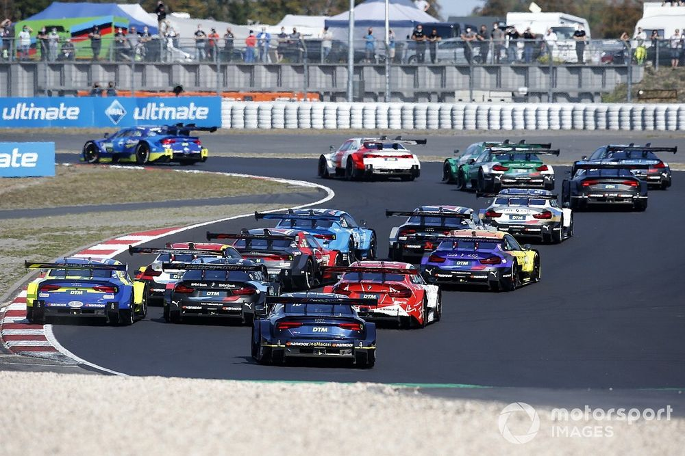Muller doesn't blame Green for costly Nurburgring DTM spin