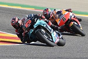 Michelin verklaart bandenprobleem Quartararo in Aragon GP