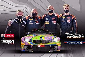 24h di Spa: Boutsen Ginion presenta una BMW M6 'Art Car'