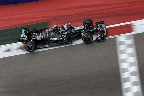 Боттас установил рекорд трассы на тренировке Гран При Айфеля, Леклер показал 3-е время