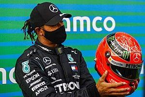 """Hamilton: """"Mai avrei pensato di raggiungere Schumacher"""""""