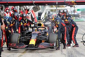 Albon treurt na miserabele GP van de Eifel, Horner verklaart DNF