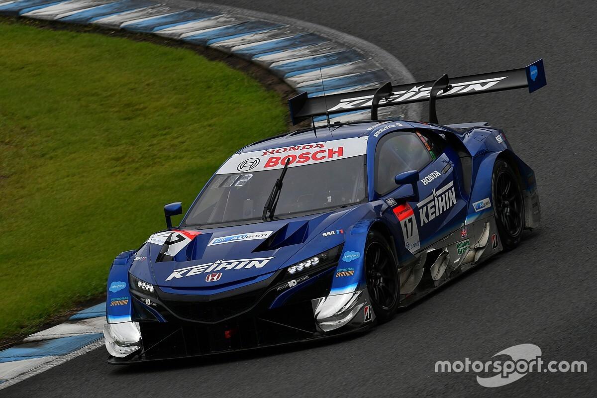 スーパーGT第4戦もてぎ:決勝順位速報|#17 KEIHIN NSX-GTが今季2勝目!