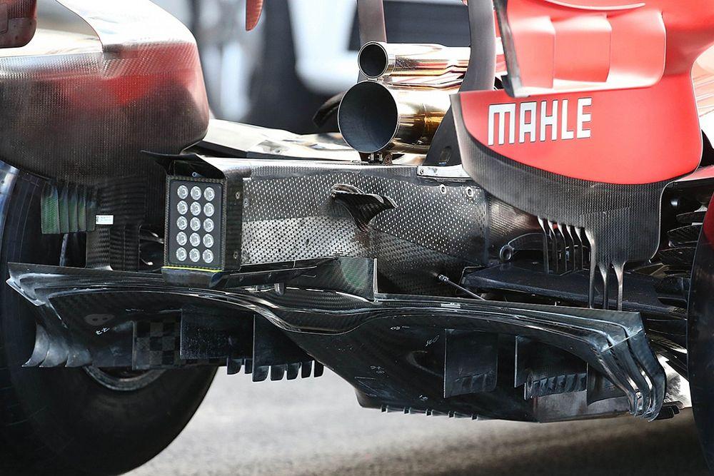 Ferrari: ecco il diffusore 2021 con le paratie più corte!
