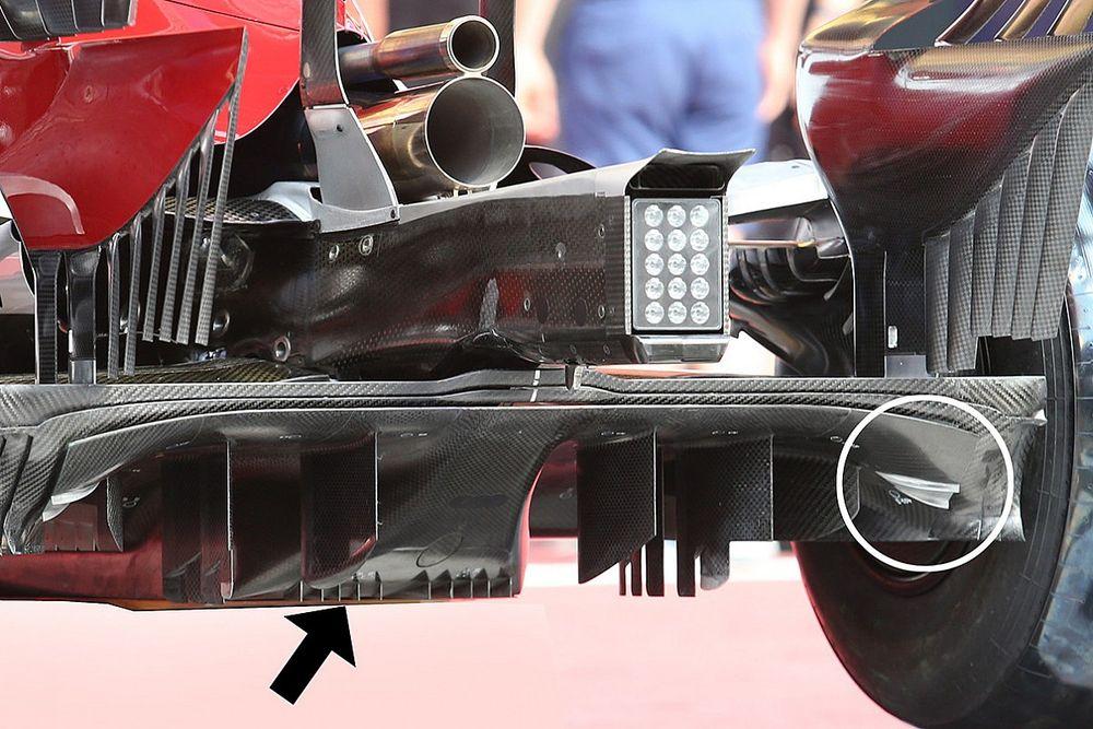 Formel-1-Technik: Detailfotos beim Belgien-Grand-Prix 2020 in Spa