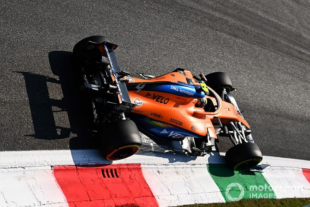 The car changes that have helped McLaren shine in 2020
