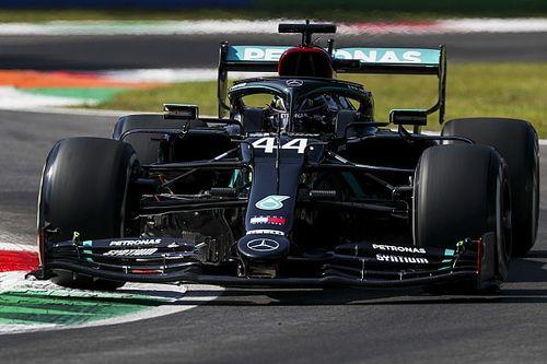 Hamiltoné az FP2, Norris hatalmasat ment, Vettel megpördült