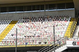 La 'broma' solidaria de Vettel en el GP de Italia de F1